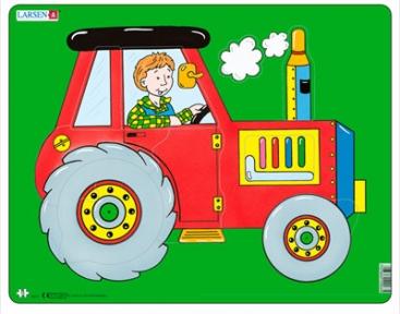 Пазл Трактор серия Макси NM3