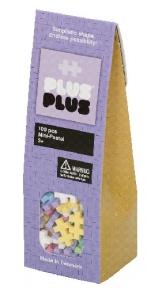 Конструктор Plus-Plus Mini Пастельный 100шт PP-3305