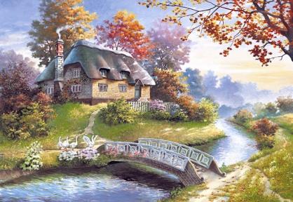 Пазл Загородный домик 1500 эл. c150359
