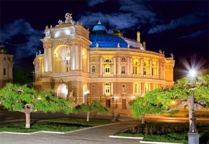 Пазл Дом оперы в Одессе, Украина 1500 эл. c150649