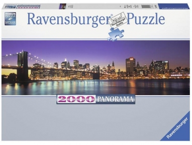 Пазл Нью-Йорк 2000 элементов Панорамный RSV-166947