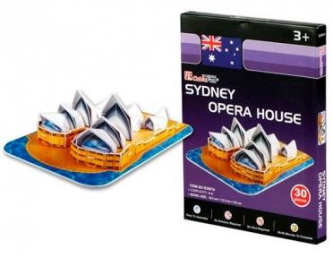 Трехмерная модель Сиднейский оперный театр S3001h