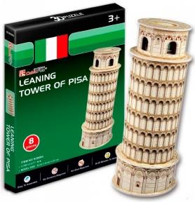 Трехмерная модель Пизанская башня мини S3008h