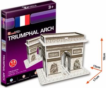 Трехмерная модель Триумфальная арка S3014h