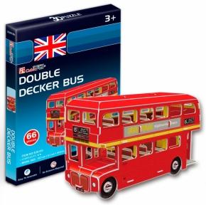 Трехмерная модель Автобус Double-decker CubicFun S3018h