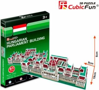 Трехмерная модель Венгерский парламент S3032h