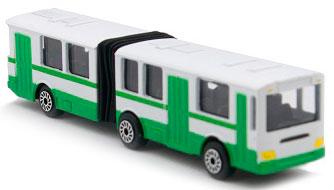 Минимодель Автобус с гармошкой, Технопарк SB-15-34-B