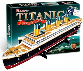 Трехмерная модель Титаник CubicFun T4012h