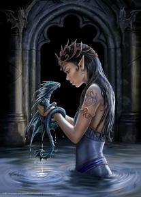 Пазл Adex Водный дракон 1000 эл. w10005