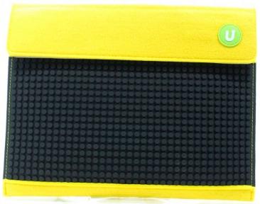 Клатч c ремешком для руки желто-черный, Upixel WY-B010F