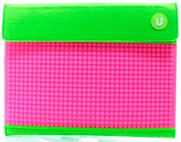 Клатч для планшета Зелено-малиновый Upixel WY-B010K