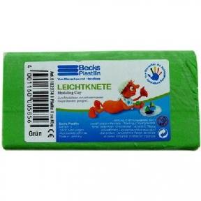 Пластилін плаваючий Becks Plastilin 65г зелений B102374