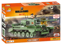 Конструктор COBI Word Of Tanks A34 Комета, 530 дет