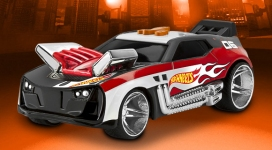 Супербыстрая машинка Twinduction Hot Wheels со светом и звуком, 16 см. Toy State 90502 - double