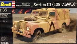 Автомобиль (1971г.;Великобритания) British 4x4 Off-Road Vehicle109 1:35 03246