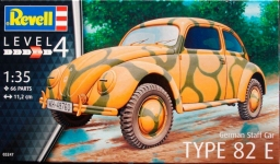 Автомобиль German Staff Car TYPE 82E (1940 г. Германия), 1:35, Revell 03247