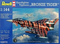 Истребитель Eurofighter Bronze Tiger; 1:144, Revell 03970
