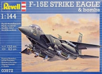 Истребитель F-15E Strike Eagle & Bombs, 1:144, Revell 03972