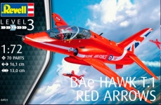 Лёгкий штурмовик BAe Hawk T.1 Red Arrows 1:72 Revell 04921