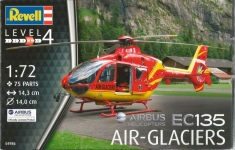 Вертолет Airbus Helicopters EC135 AIR-GLACIERS, 1:72, Revell 04986