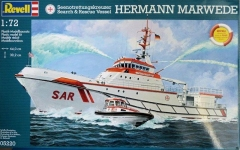 Корабль Search & Rescue Vessel HERMANN MARWEDE, 1:72, Revell 05220