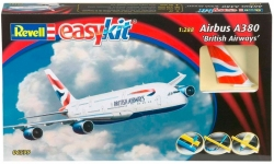 Самолет Airbus A380 British Airways, 1:288, Revell 06599