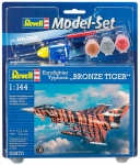 Model Set Истребитель Eurofighter Bronze Tiger, 1:144, Revell 63970