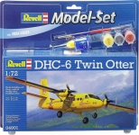 Model Set Самолет DHC-6 Twin Otter; 1:72, Revell 64901