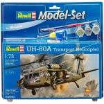 Model Set Вертолет UH-60A Transport Helicopter 1:72 Revell 64940