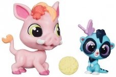 Зверюшка и малыш Warren Plainleo Littlest Pet Shop A7313-14