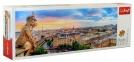 Пазл Вид с собора Парижской Богоматери 1000 эл панорама 29029