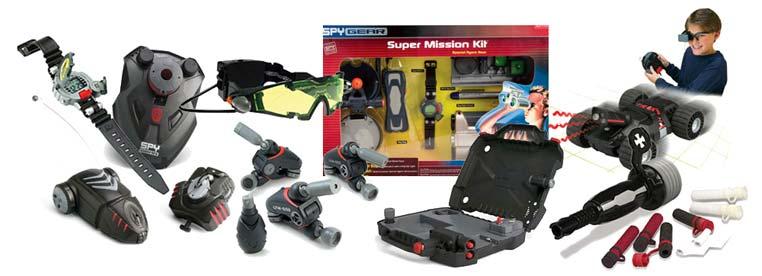 Шпионские игрушки