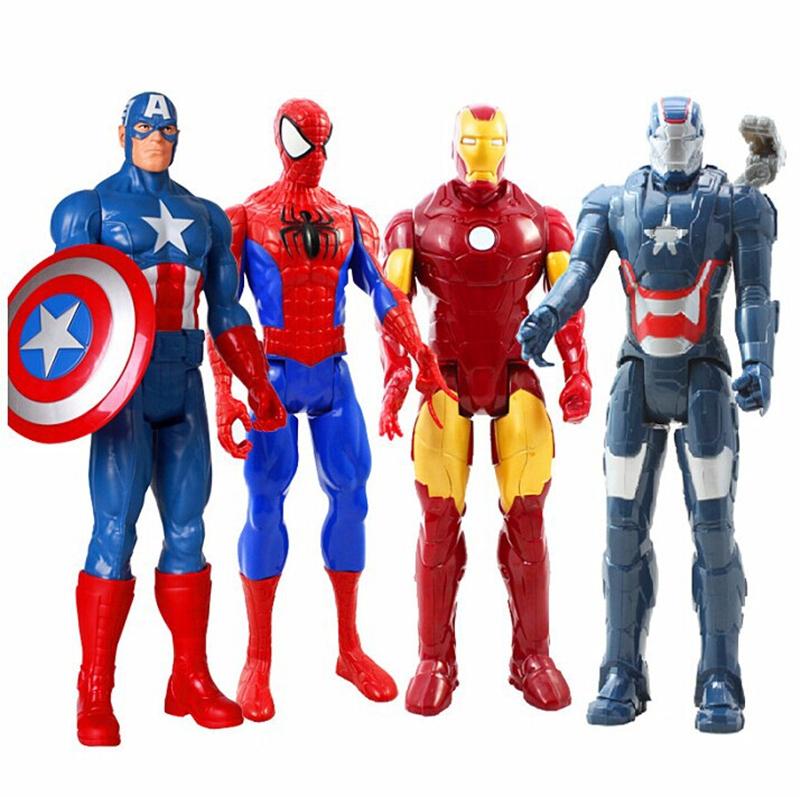 Фигурки героев Марвел студии